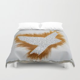 ThePeaceBombs - Perfect day for Peace Duvet Cover
