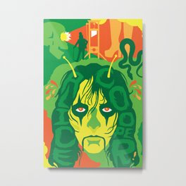 THE ROOTS OF HORROR ROCK :: ALICE COOPER Metal Print