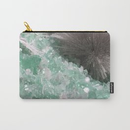Mesolite with Fluorapophyllite Carry-All Pouch