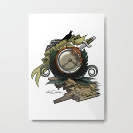 End Of Time Metal Print