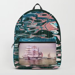 Tall Ships in Boston -USCG Backpack