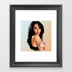 Aaliyah #2 Framed Art Print