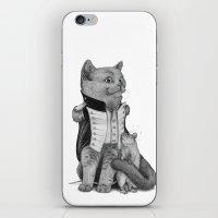 napoleon iPhone & iPod Skins featuring Napoleon by Tim Van Den Eynde