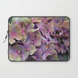Artistic Autumnal wilt Hydrangea (water colour effect) Laptop Sleeve