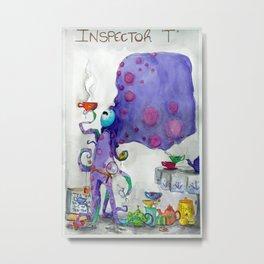 "Inspector ""T"" Metal Print"