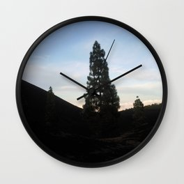 late at arena negra tenerife Wall Clock
