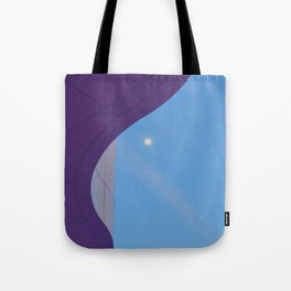 Lunar Curve Tote Bag