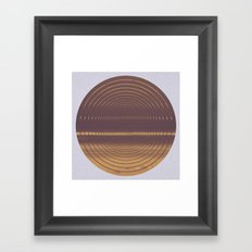 Cold as Hell Framed Art Print