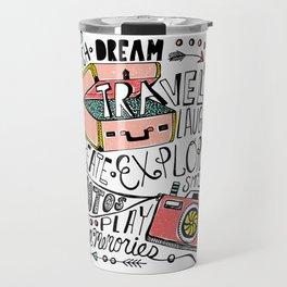 Travel Create Explore Travel Mug