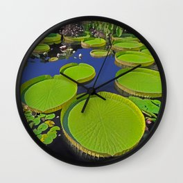 Water Platters Wall Clock