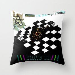 Game On  EP cover Throw Pillow