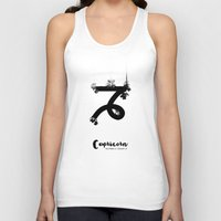 capricorn Tank Tops featuring Capricorn by Make-Ready