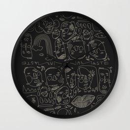 Yogi Tribe Wall Clock