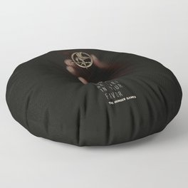 May the odds be ever in your favor Floor Pillow