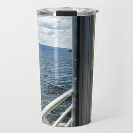 Burlington, Vermont Boat Ride.  Travel Mug