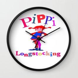 Pippi's World Wall Clock