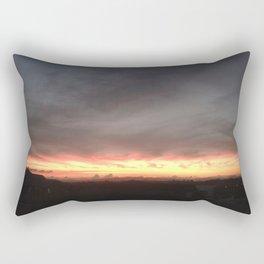 Fired Horizons Rectangular Pillow