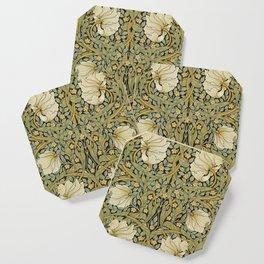 William Morris Pimpernel Art Nouveau Floral Pattern Coaster