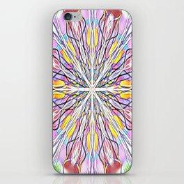 Stain Glass Kaleidoscope iPhone Skin