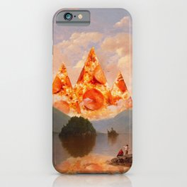 PIZZA MOUNTAINS iPhone Case