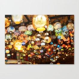 Turkish Lamps - Istanbul, Turkey Canvas Print