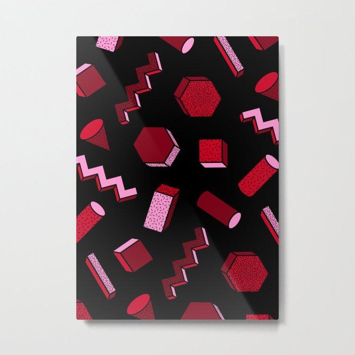 19 Metal Print