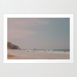 Surfer's Beach Art Print