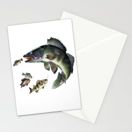 Walleye Stationery Cards