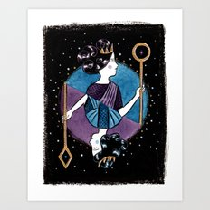 Playing Card Art Print