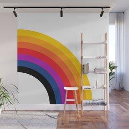Retro Rainbow - Right Wall Mural