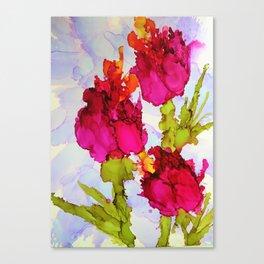Fresh Tulips Canvas Print