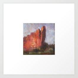 Tower of Babel, Garden of the Gods Art Print