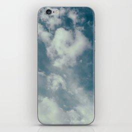 Soft Dreamy Cloudy Sky iPhone Skin