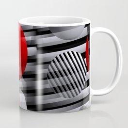 3D - abstraction -38- Coffee Mug
