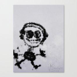 Musik Stickman Canvas Print