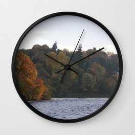 Autumn from Ness Island Inverness Wall Clock