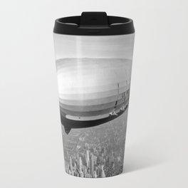 Airship over New York Travel Mug