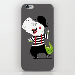 T-Rex Mime iPhone Skin