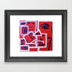 Pieces 1 Framed Art Print