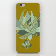 pattern succulent plant iPhone & iPod Skin