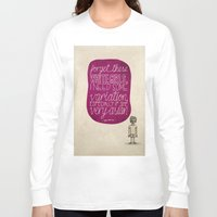 childish gambino Long Sleeve T-shirts featuring Childish Gambino; What Rappers Say Series 4/8 by Jaron Lionel