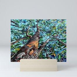 Salt Spring Arbutus Trees Mini Art Print