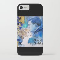 great gatsby iPhone & iPod Cases featuring The Great Gatsby by Christine Chang