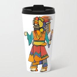 Ancient Egyptian Painting - Dancer Travel Mug