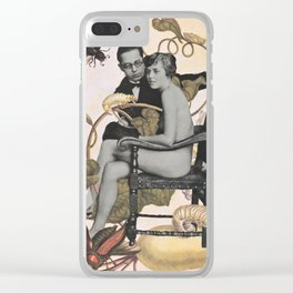 Botanical Bugs & Bod Clear iPhone Case