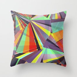 Magic circles number one Throw Pillow