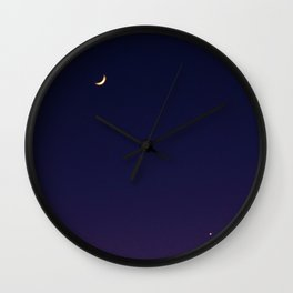 hawaiian moon Wall Clock