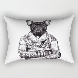 Astro Frog Rectangular Pillow