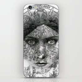 The Eyes of Alchemy iPhone Skin