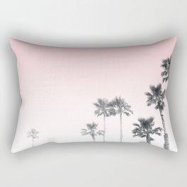 Tranquillity - pink sky Rectangular Pillow